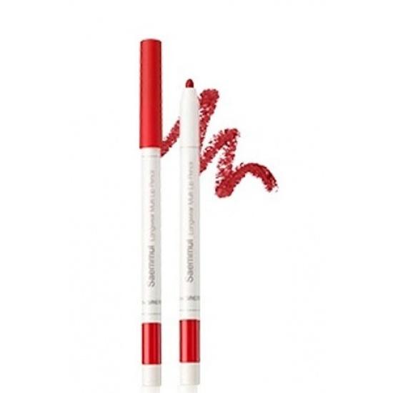 Карандаш для губ Saemmul Longwear Multi Lip Pencil RD03 Vintage Red