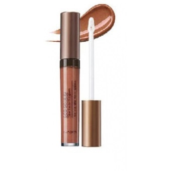 Блеск для губ ECO SOUL Glam Luster Lipgloss BR01 Peach Nude