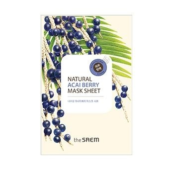Маска тканевая с экстрактом ягод асаи Natural Acai Berry Mask Sheet