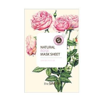 Маска тканевая с экстрактом розы Natural Rose Mask Sheet