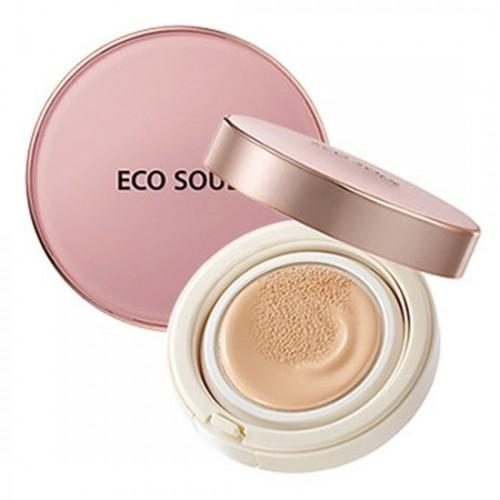 Основа тональная 02 Eco Soul Bounce Cream Foundation 02 Natural Beige