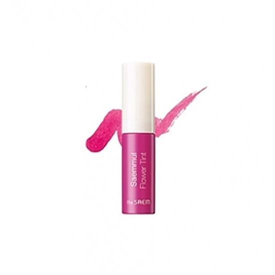 Тинт для губ цветочный Saemmul Flower Tint PK02 I'm Sweetbrier