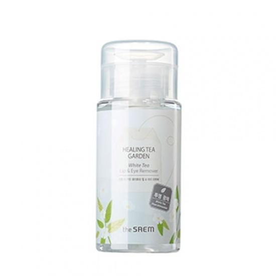 Жидкость для снятия макияжа с глаз и губ Healing Tea Garden White Tea Lip & eyes Remover