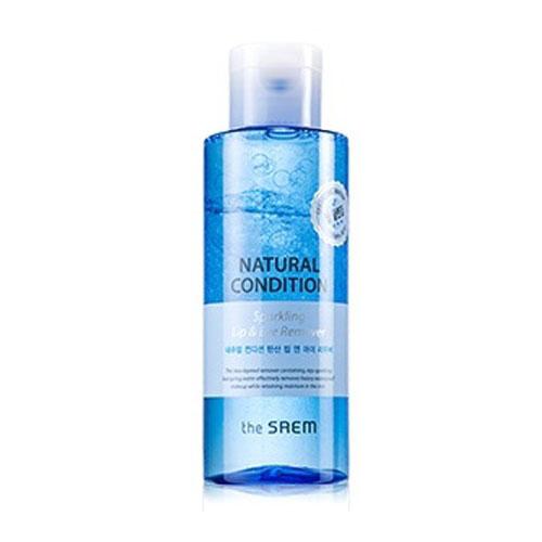 Средство двухслойное для снятия макияжа с термальной водой Natural Condition Sparkling Lip & Eye Remover
