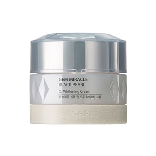 Крем кислородный осветляющий Gem Miracle Black Pearl O2 Whitening Cream (N)