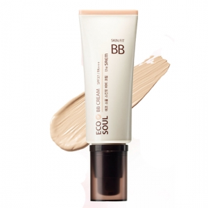 Крем натуральный 01 Eco Soul Skin Fit BB Cream 01 Pink Beige