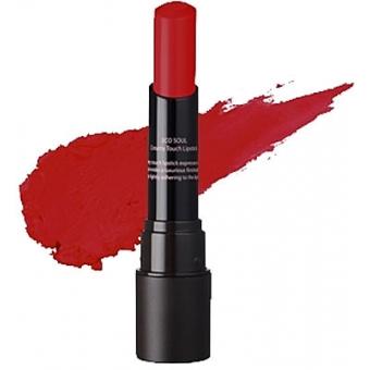 Помада кремовая  для губ 01 Eco Soul Creamy Touch Lipstick 01 Coming Red