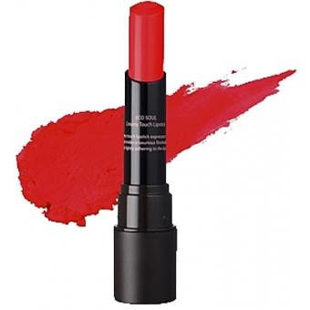 Помада кремовая  для губ 02 Eco Soul Creamy Touch Lipstick 02 Freedom Red