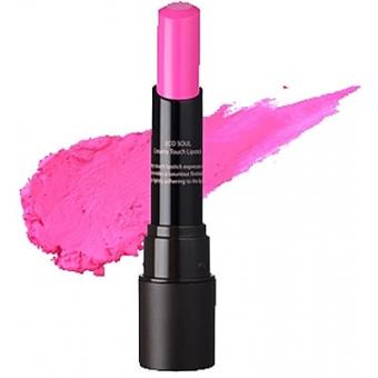 Помада кремовая  для губ 04 Eco Soul Creamy Touch Lipstick 04 Successful Pink