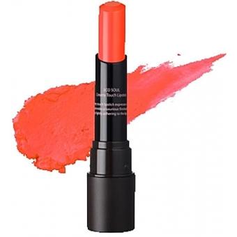 Помада кремовая  для губ 06 Eco Soul Creamy Touch Lipstick 06 Brightening Orange