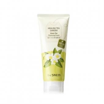 Пенка увлажняющая очищаюшая с экстрактом зеленого чая  Healing Tea Garden Green Tea Cleansing Foam