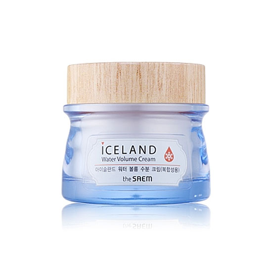 АКЦИЯ! Крем минеральный Iceland Water Volume Hydrating Cream(For Combination Skin)