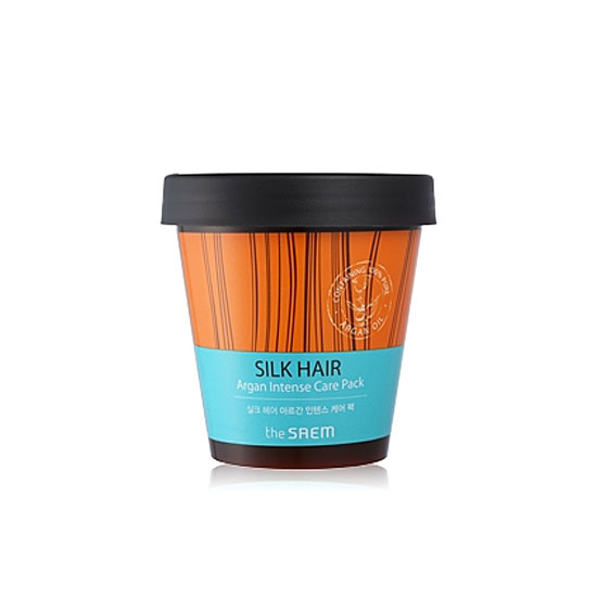 Маска интенсивная для волос SILK HAIR Argan Intense Care Pack