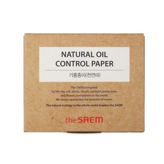 Матирующие салфетки Natural Oil Control Paper