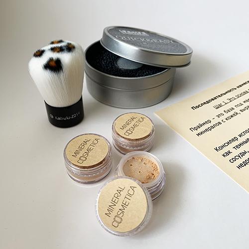 Стартовый набор минеральной косметики для кожи светлого оттенка